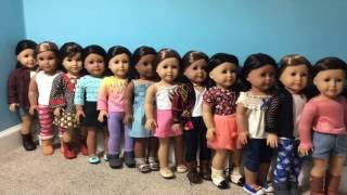 vuclip Dressing My American Girl Dolls