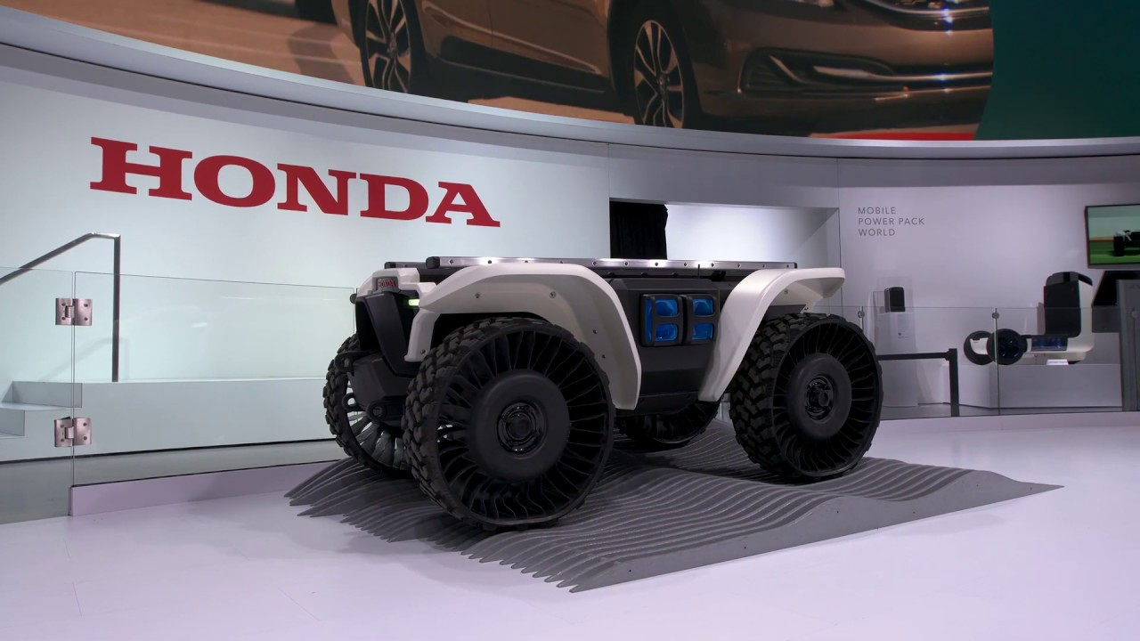 Honda Autonomous Work Vehicle prototype