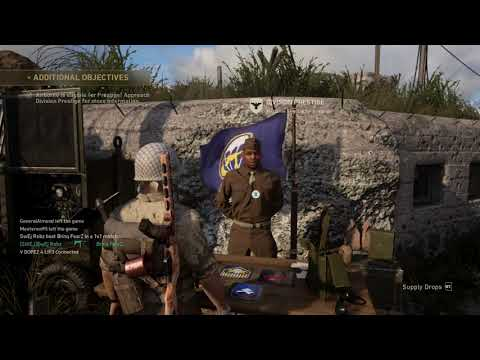 COD WW2 How to prestige a Division!