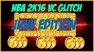 NBA 2k16 Unlimited VC Glitch **June Edition**