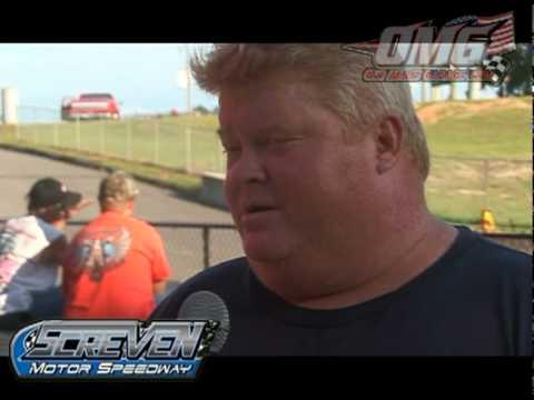 OMG visits Screven Motor Speedway