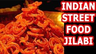 Street Food | INDIAN STREET FOOD | STREET FOOD JALEBI | Jalebi Recipe - Crispy Crunchy Juicy Jalebi