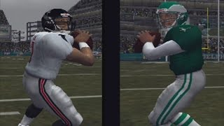 MADDEN 2004 PS2 GAMEPLAY DONAVON MCNABB AND MIKE VICK