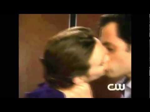 Dan and Blair elevator sex scene Gossip Girl HOT 5x18