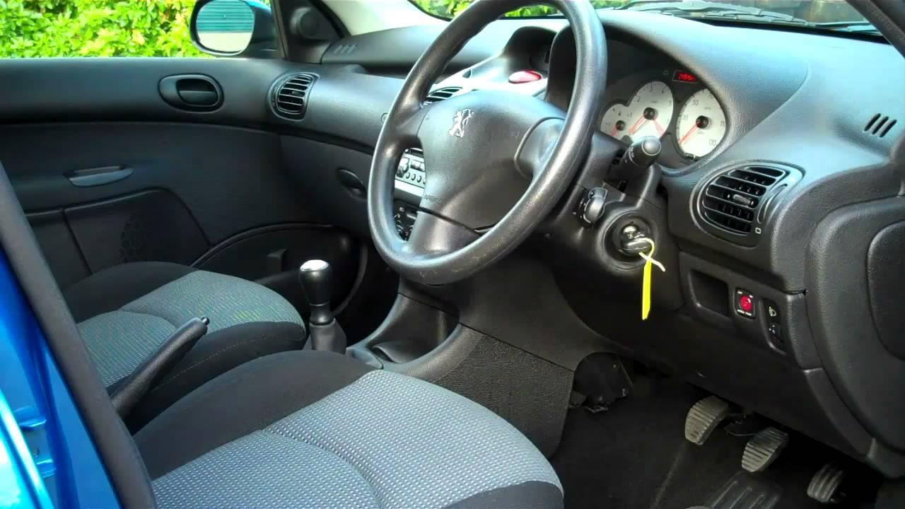 04-04 Peugeot 206 SW S 1.4cc 5dr Estate Car For Sale - YouTube