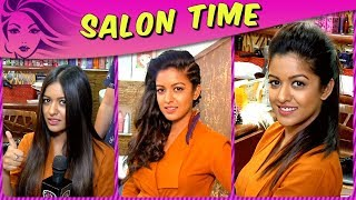 Different Looks Of Ishita Dutta | High Ponytail Hairstyle To Glam Look | Salon Time | Vatsal Sheth