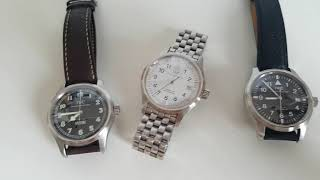 A trio of IWC Mark XV (15) wat…