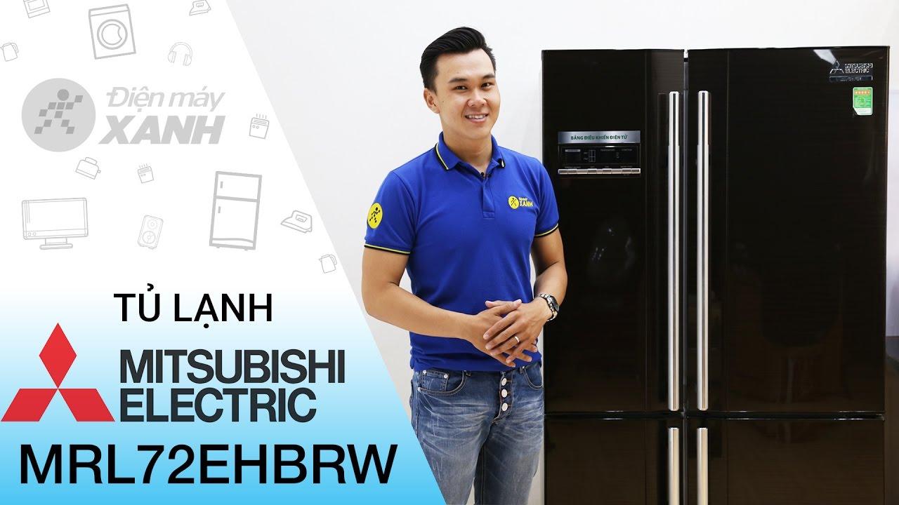 Đánh giá tủ lạnh MITSUBISHI  580 lít MRL72EHBRW | Điện máy XANH