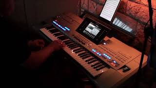 I can't stop loving you - Ray Charles (cover by DannyKey) on Yamaha keyboard Tyros5