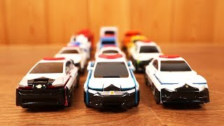 Transform Car Toy for Kids  - Passenger Cars Transformation to Police Car VooV