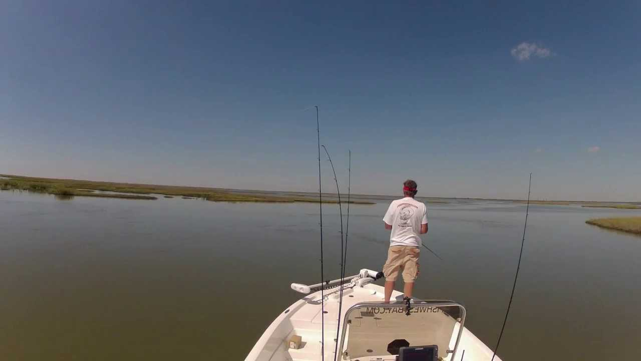 Look around greens lake in west galveston bay texas youtube for Fishing spots in galveston