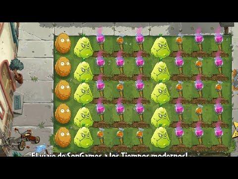 Plants Vs Zombies 2 Misión de Planta Premium Apisonaflor