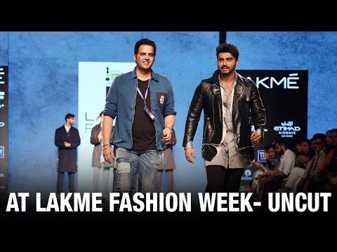 UNCUT Arjun Kapoor's Ramp Walk at Lakme Fashion Week 2016 | Bollywood News | Bollywood 2016