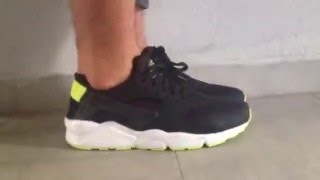 Nike Huarache Triple Black Ebay