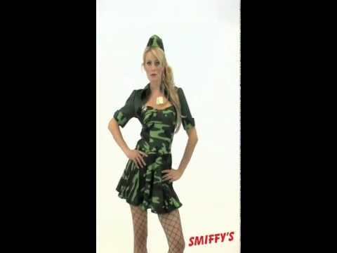 Military Babe Costume from UKPartyWarehouse