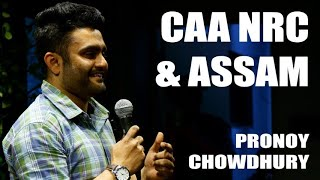 CAA & NRC | Stand up comedy by Pronoy Chowdhury | #shorts #standupcomedy