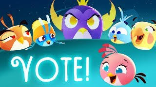 Angry Birds Stella | Vote for Your Favorite Bird of the Series S1