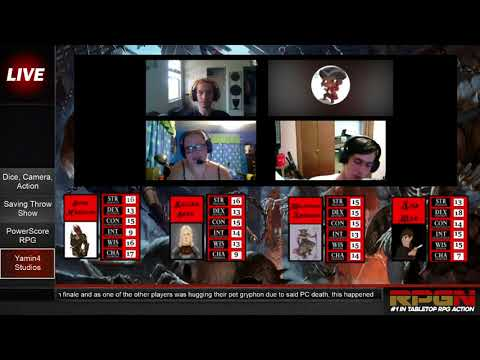 RPGN Episode 6: THE RETURN OF RPGN Web DM Tabletop Live Stream Highlight Comedy Show