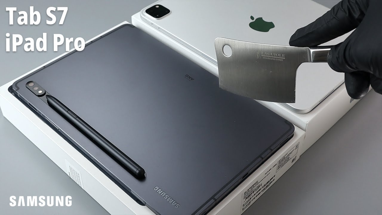Samsung Galaxy Tab S7 vs iPad Pro Unboxing [4K]