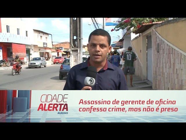 Assassino de gerente de oficina confessa crime, mas não é preso