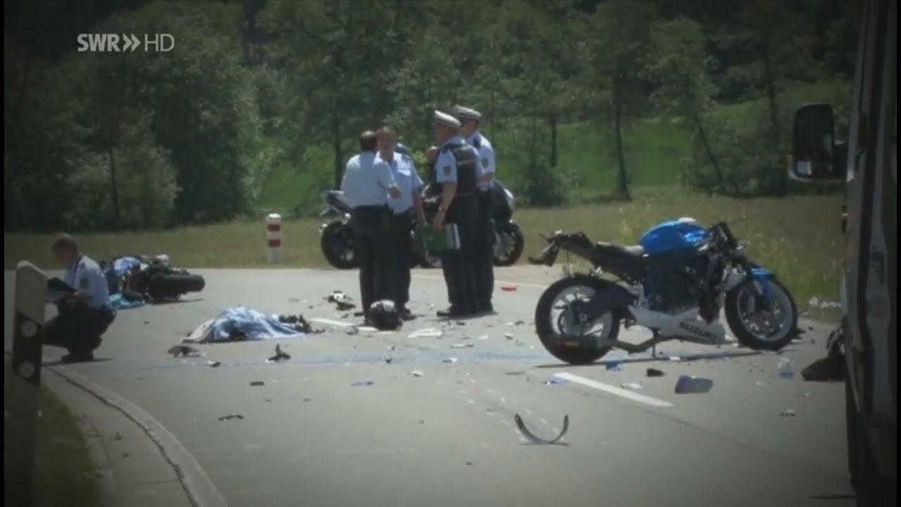 TÖDLICHE Motorradunfälle HD SWR Reportage YouTube