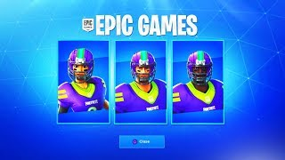 The Fortnite NFL Skins RETURN...