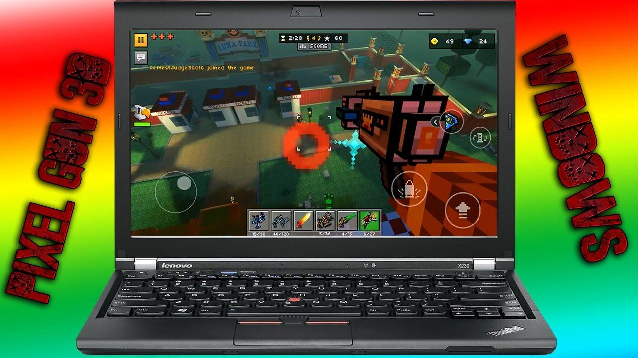 pixel gun 3d pc emulator