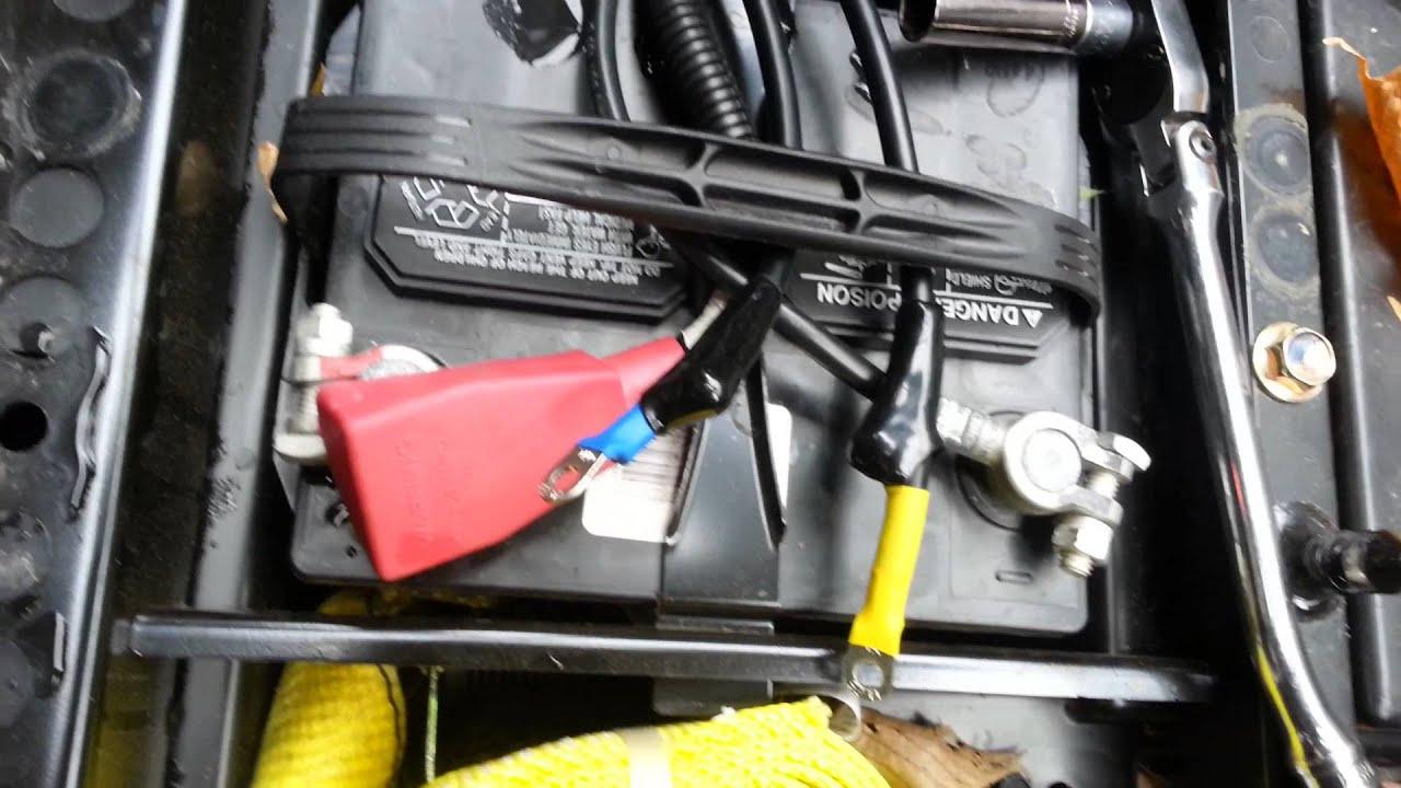 Badland 3500 Winch Wiring Diagram Glowshift Egt Gauge Superwinch 4500 Atv
