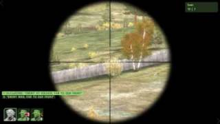 Arma 2 Gameplay - Cobra CAS and Enemy Reinforcements Test Mission
