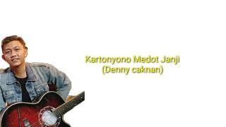 Gambar cover LIRIK KARTONYONO MEDOT JANJI-Denny caknan