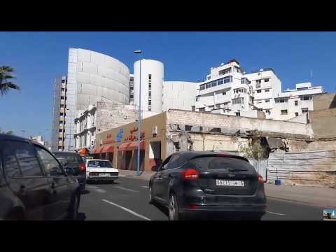 RABAT- جولة من الرباط الئ الدارالبيضاء عبرالشاطئ Harhoura-Bouznika-Mohammadia- Casablanca