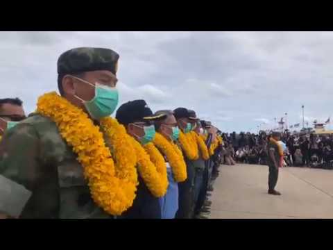 Thai Cave Rescue Watch The Thai Navy Seals Welcome Home Celebration