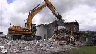 Londonderry Park Demolition   July 2014