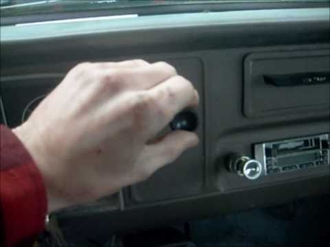 1966 Chevy C-10 How to Replace a Heater Blower Motor - YouTube