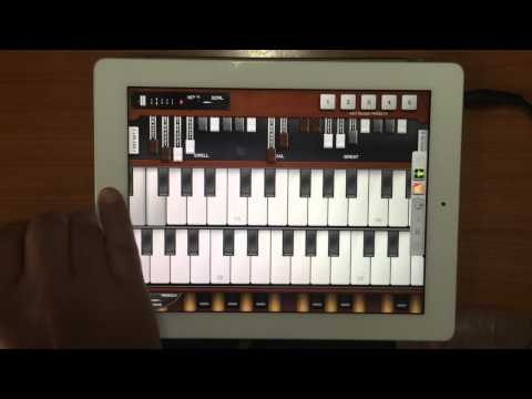 A Whiter Shade of Pale - Pocket Organ C3B3 (Hammond Organ App) Drawbar Settings