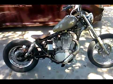 86 Suzuki Savage Bobber - YouTube