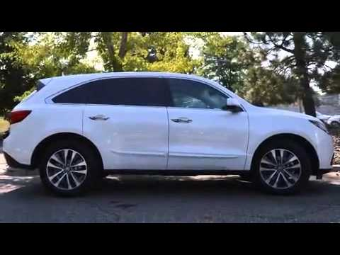 2016 Acura MDX SH-AWD with Technology Package - YouTube