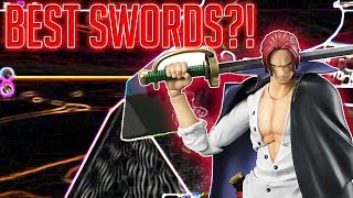 TOP 5 BEST SWORDS! | STEVE'S ONE PIECE | Roblox |