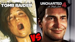 Uncharted 4: A Thief's End VS Rise Of The Tomb Raider