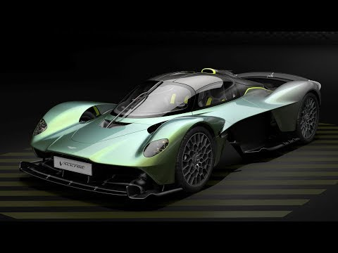 How to customise an Aston Martin Valkyrie | Top Gear