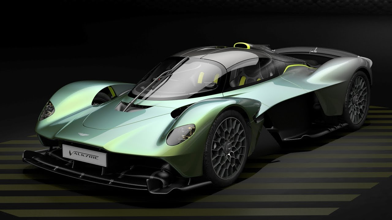 Watch Top Gear Play With The Aston Martin Valkyrie Configurator | aston martin customizer