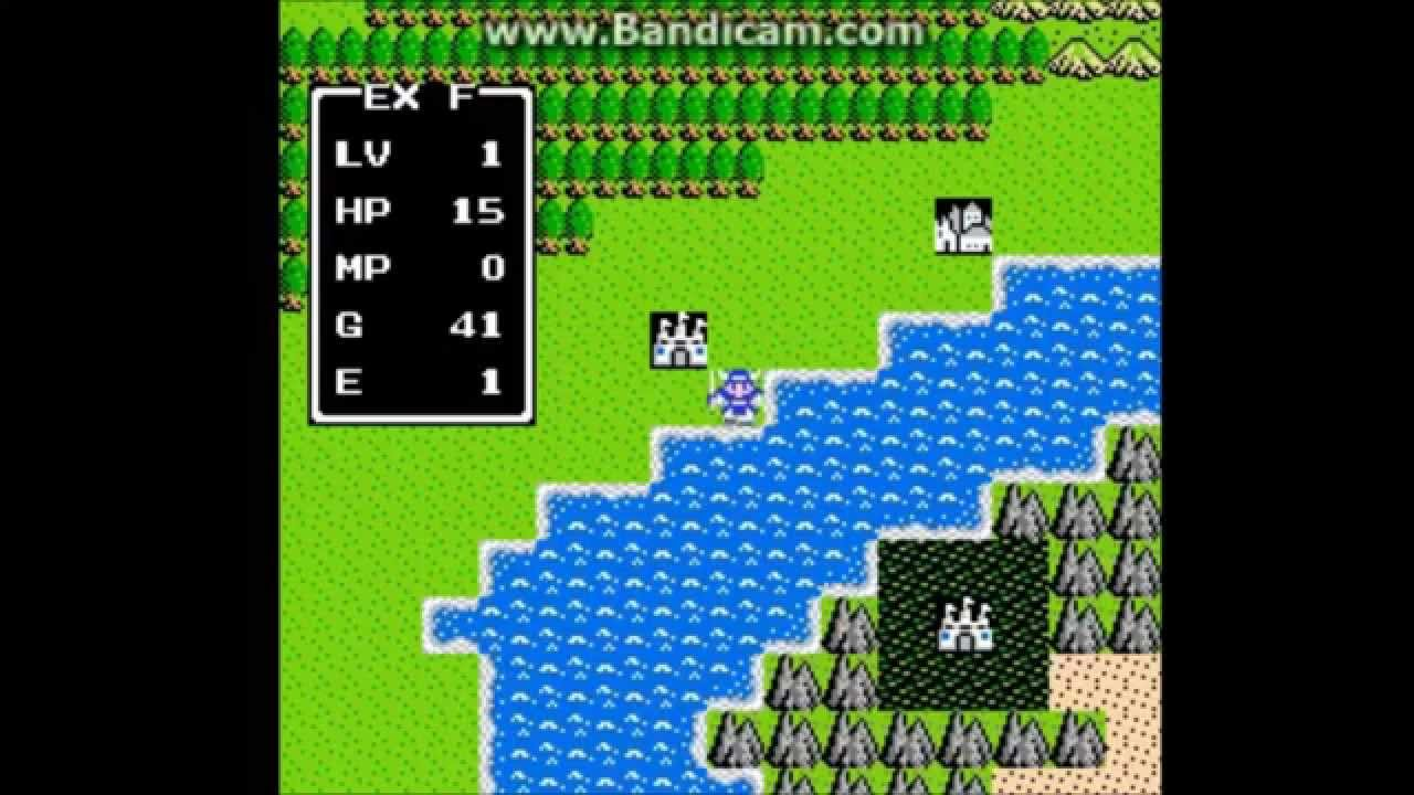 Fun with Cheats - level grinding made easy (<b>Dragon Warrior</b> for NES ...