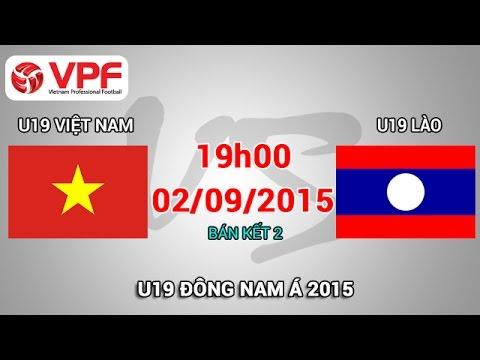 U19 Việt Nam vs U19 Lào - U19 Đông Nam Á | FULL
