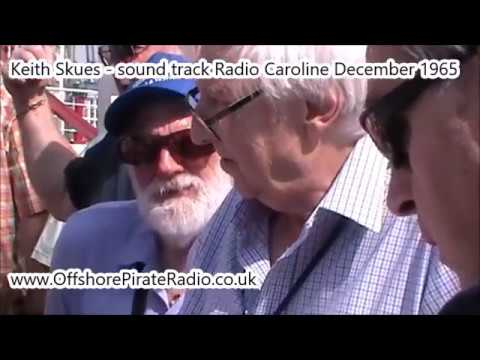 keith skues Pirate Radio DJ at the LV18 Harwich