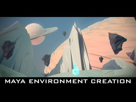 Maya Tutorial - Geometric Sci-Fi Environment Creation