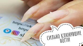 Аквариумный маникюр на короткие ногти /Аквариумный дизайн с часами/Кэшбэк со СмартиСейл