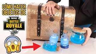 7 Objetos de FORTNITE en la VIDA REAL - FORTNITE BATTLE ROYA...