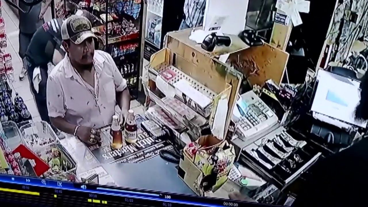 latino fires gun at Store clerk because he couldn't use toilet. Black man gets the blame.