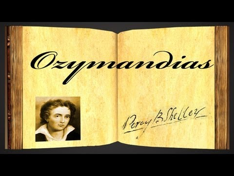 Ozymandias by Percy Bysshe Shelley - Poetry Reading - YouTube