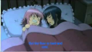 Amuto Scene Ikuto sleeps with Amu